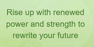Brené Brown quote - Rise up with renewed power and strength to rewrite your future