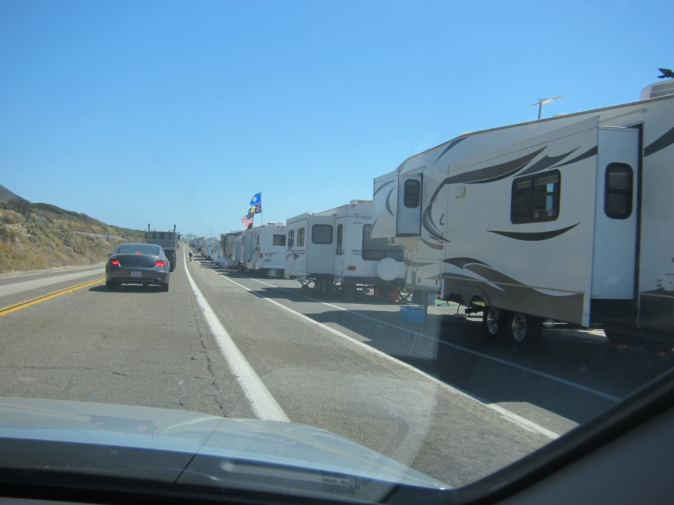 Holidaying in an RV