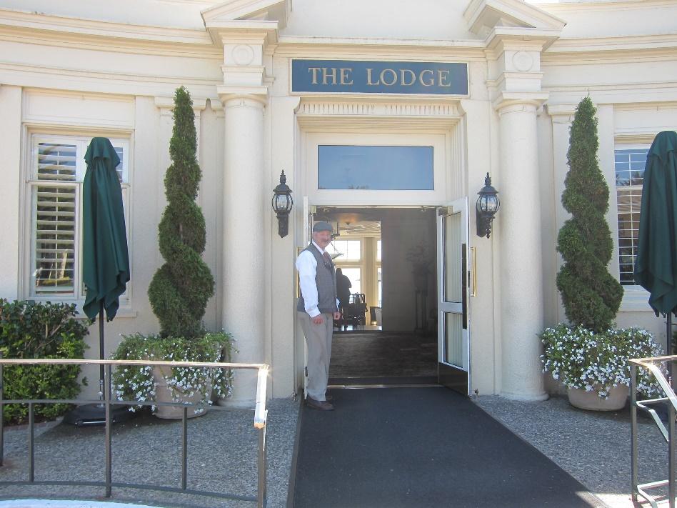Pebble Beach Golf Club Lodge entrance