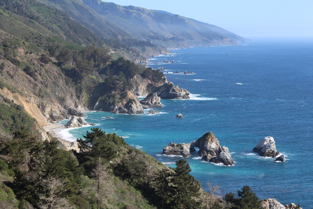 Typical Big Sur scenery