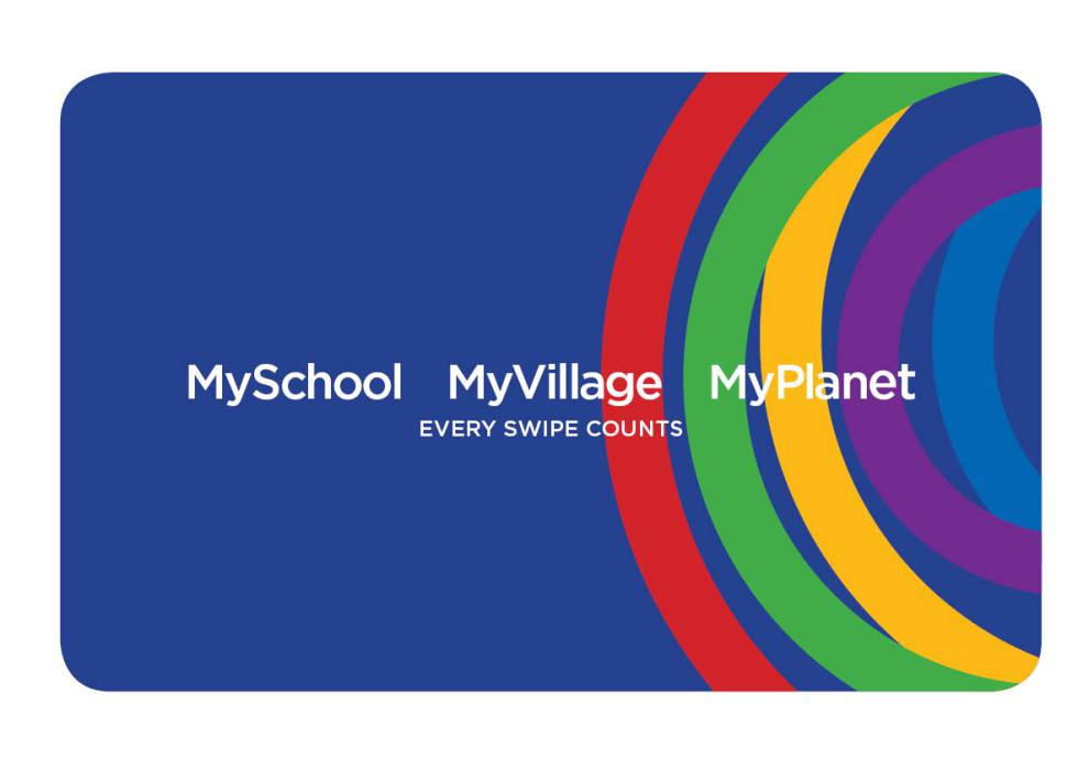 MySchool card- donate when you swipe
