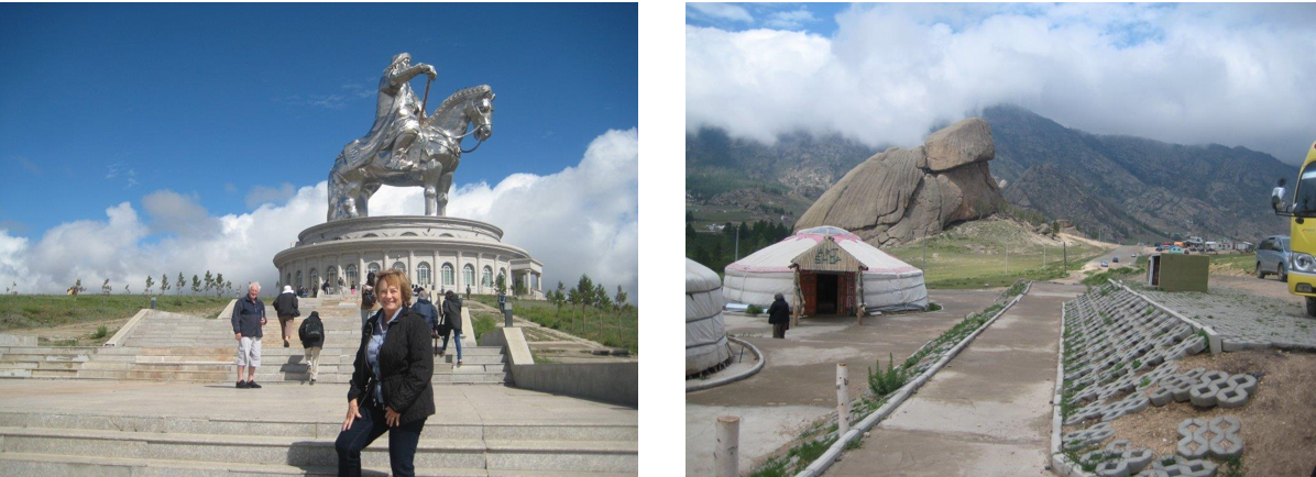 Ghengis Khan statue and Gorkhi-Tereli National Park