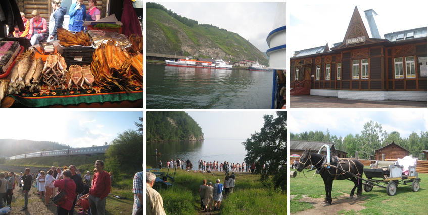 Images from Lake Baikal